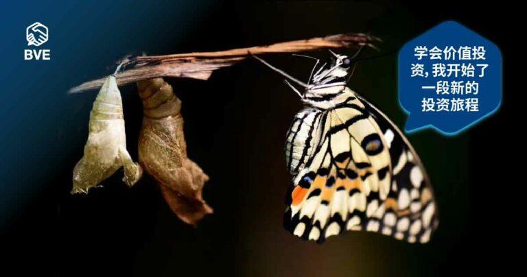作品一:蜕变,成为股市里展翅高飞的蝴蝶
